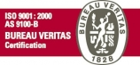 Certified ISO 9001 / AS9100 by BVQI